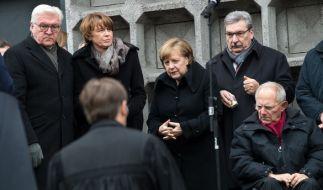 Im Rahmen der Gedenkveranstaltung zum Jahrestag des Berliner Weihnachtsmarktanschlags hat die Bundesregierung Fehler eingeräumt. (Foto)