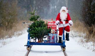 Wo gibt es in diesem Jahr Schnee an Weihnachten? (Foto)