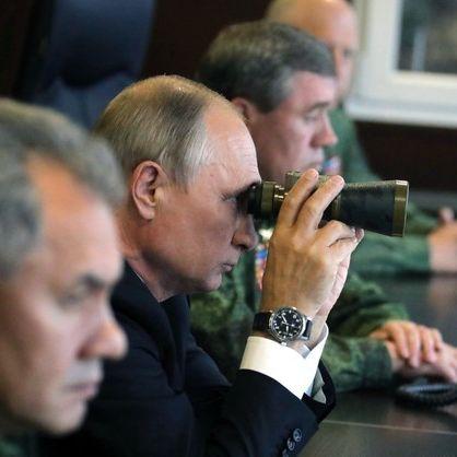 Russland probt Bombardierung von Deutschland (Foto)