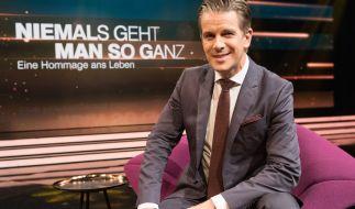 """""""Niemals geht man so ganz"""": Markus Lanz würdigt den Menschen, die in 2017 verstorben sind. (Foto)"""