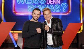 Dieter Bohlen (r.) und Steffen Henssler treffen im Ersten aufeinander. (Foto)