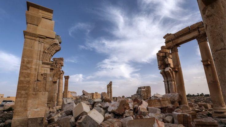 Die historische Stadt Palmyra wurde vom IS zerstört. (Foto)