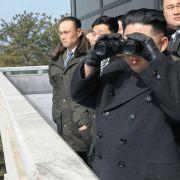 Schüsse an der Grenze! Nordkorea-Soldat flüchtet in den Süden (Foto)