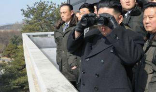Erneut ist ein nordkoreanischer Soldat in den Süden geflüchtet. (Foto)