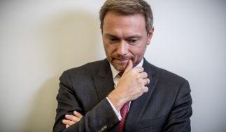 FDP-Chef Christian Lindner ist zu erneuten Jamaika-Sondierungen bereit, allerdings nur, nach Neuwahlen. (Foto)