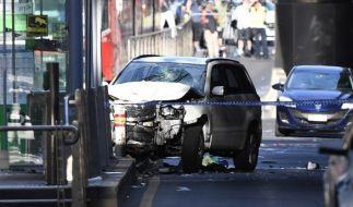 In Mann verletzte in Melbourne mindestens 19 Menschen mit seinem Wagen. (Foto)