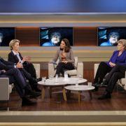 So viel Zeit verquatschen deutsche Politiker in Talk-Shows (Foto)