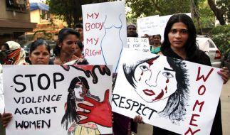 Gewalt gegen Frauen ist in Indien immer noch ein Problem. (Foto)