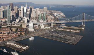 Das FBI konnte einen Terror-Anschlag in San Francisco verhindern. (Foto)