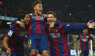 Der FC Barcelona konnte den El Clasico für sich entscheiden. (Foto)