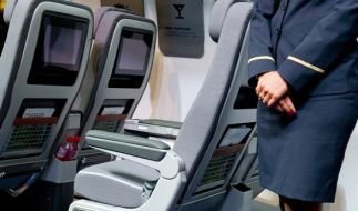 Eine russische Stewardess ist bei den Startvorbereitungen auf einem Moskauer Flughafen aus dem Flugzeug gestürzt. (Foto)
