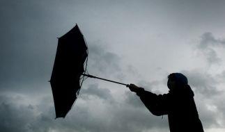 Der Deutsche Wetterdienst warnt vor Sturmböen. (Foto)