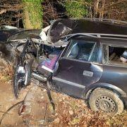 Horror-Crash reißt junge Familie auseinander (Foto)