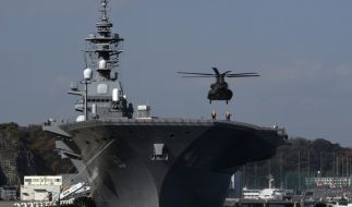 Bislang verfügt Japan nur über Zerstörer, von denen Helikopter starten können. (Foto)