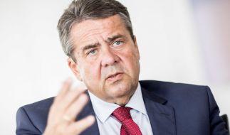 Außenminister Gabriel glaubt nicht an einen baldigen EU-Beitritt der Türkei. (Foto)