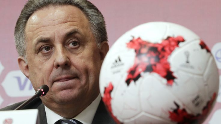 Witali Mutko tritt als Cheforganisator der Fußball-WM 2018 in Russland zurück. (Foto)