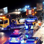 Horror-Crash! Betrunkener LKW-Fahrer rast Polizistin tot (Foto)