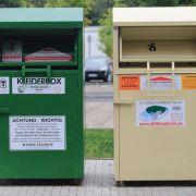 Schrecklicher Unfall! Mann stirbt in Altkleider-Container (Foto)