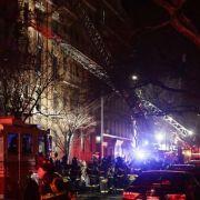 Schlimmster Brand seit 1990! 12 Tote bei Feuer in Wohnhaus (Foto)