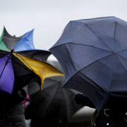 Schmuddel-Wetter! Fällt Silvester ins (Regen-)Wasser? (Foto)
