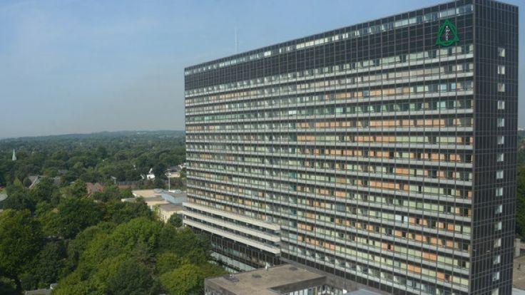 Im zehnten Stock der Asklepios-Klinik in Hamburg-Altona hat es gebrannt. (Foto)