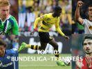 Die teuersten Bundesliga-Transfers