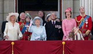 Das britische Königshaus, allen voran Queen ELizabeth II., ist für seinen Arbeitseifer bekannt. (Foto)