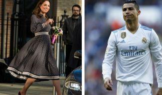 Cristiano Ronaldo eifert Kate Middleton nach. (Foto)