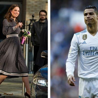 Cristiano Ronaldo nimmt sich Herzogin Kate zum Vorbild (Foto)