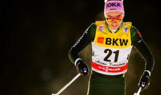 Stefanie Böhler aus Deutschland in Aktion. (Foto)