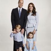Die Weihnachtskarte von Prinz William und Herzogin Kate 2017 zeigt sie gemeinsam mit Prinz George und Prinzessin Charlotte.
