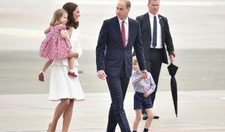 Kate Middleton und Prinz William mit ihren Kindern zu Besuch in Deutschland im Sommer 2017. (Foto)