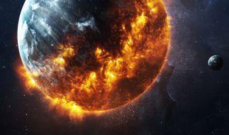 In Kolumbien wurde ein Feuerball am Himmel gesichtet. (Symbolbild) (Foto)