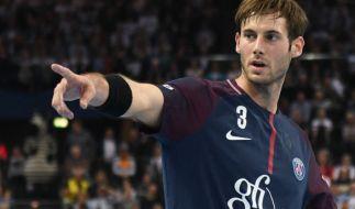 Auch der Kapitän der deutschen Handballer, Uwe Gensheimer, kann sich seines Platzes im EM-Kader nicht sicher sein. (Foto)