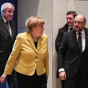 Es wird ernst! Martin Schulz und Angela Merkel verhandeln über Regierung (Foto)