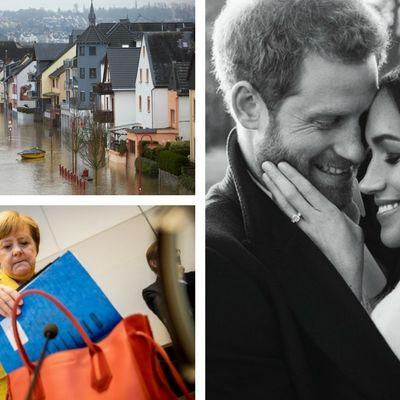Meghan Markle darf nicht heiraten // Angela Merkel startet Sondierung // Leo DiCaprio frisch verliebt (Foto)
