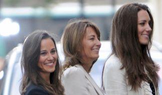 Nicht immer ganz so royal wie Schwester Kate (rechts): Pippa Middleton (links). (Foto)