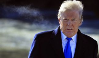 "Donald Trump gerät durch ""Fire and Fury"" unter Druck. (Foto)"