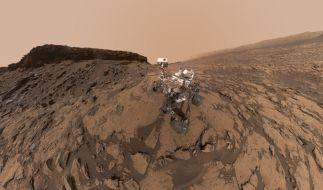 Der Mars-Rover Curiosity hat spektakuläre Aufnahmen gemacht. (Foto)