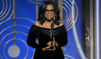 Oprah Winfrey hielt eine Brandrede und wird als nächste US-Präsidentin gefeiert. (Foto)