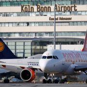 Flugverkehr in Köln-Bonn kommt zum Erliegen (Foto)