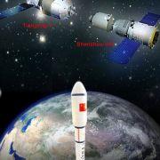 Chinesisches Raumlabor stürzt im April wohl HIER auf die Erde (Foto)