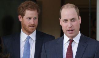 Prinz William (re.) galt als heißer Favorit, der Trauzeuge von Prinz Harry zu werden - doch offenbar hat der Bräutigam von Meghan Markle andere Pläne. (Foto)