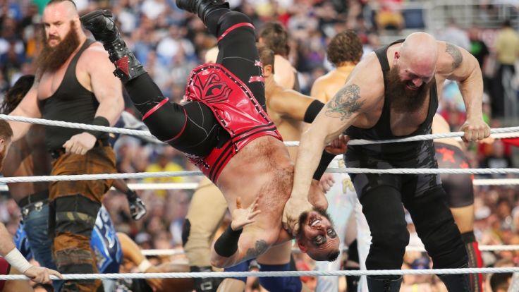 Wrestling soll vor allem Unterhaltung bieten.