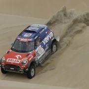 Zeitstrafe für Carlos Sainz bei der Rallye Dakar (Foto)