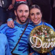 Ekat und ihr Tanzpartner Gil Ofarim sind die glücklichen Gewinner der 10. Staffel