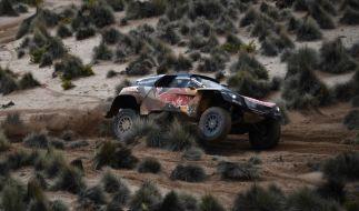 Die Rallye Dakar startet 2018 führt vom 6. bis 20. Januar durch Südamerika. (Foto)