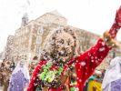 Beim Karnevalsumzug in Stuttgart wird es in diesem Jahr kein Konfetti geben. (Foto)