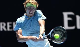 Alexander Zverev schaffte den Sprung in die nächste Runde bei den Australian Open 2018. (Foto)