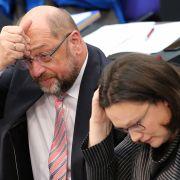 Martin Schulz umwirbt SPD-Delegierte in Dortmund (Foto)